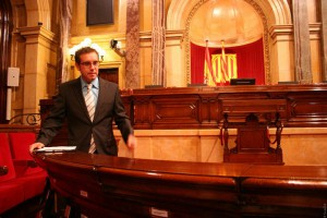 Discurs al Parlament de Catalunya (novembre 2010)