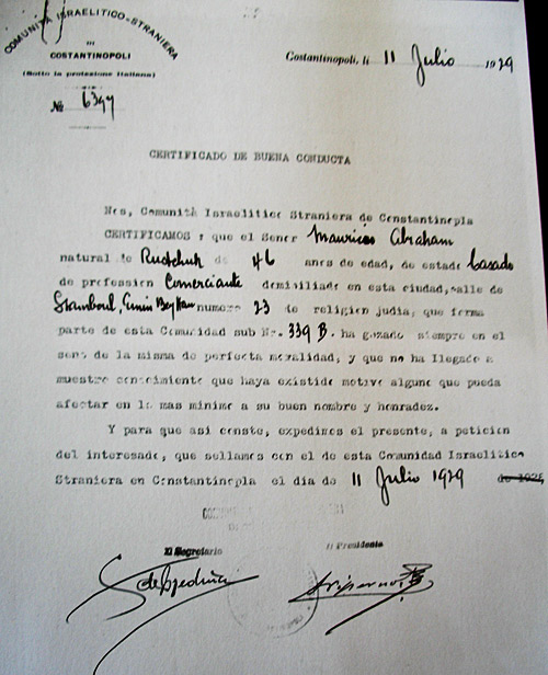 This document seems to have been made as a prerequisite for acquiring the Spanish nationality.